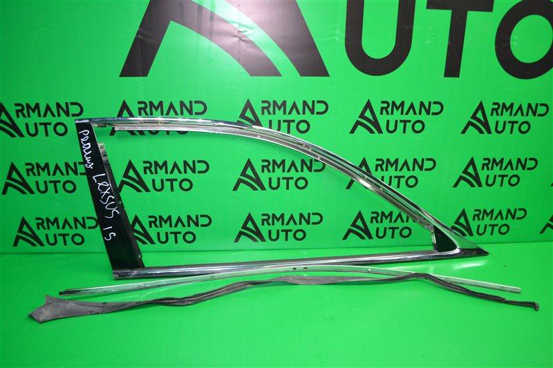 Накладка стекла Lexus Ls 2006 задняя правая (б/у)