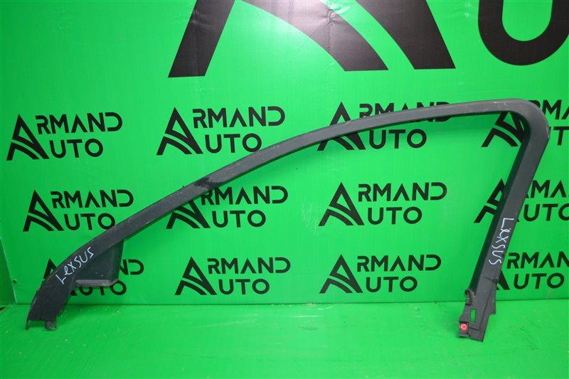 Накладка стекла Lexus Is 2013 передняя правая (б/у)