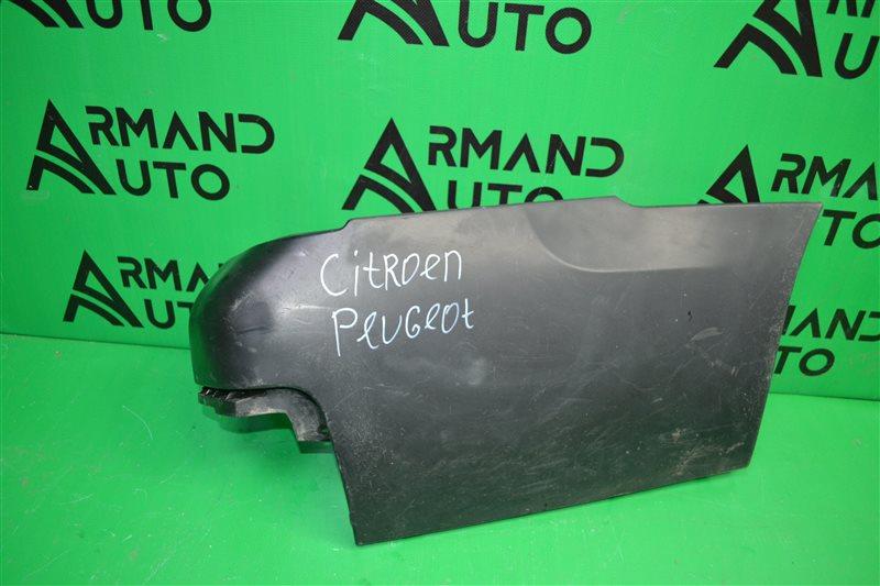 Накладка бампера Citroen Berlingo 2 2008 задняя правая (б/у)