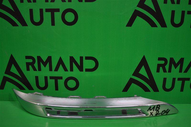 Накладка птф Mercedes Glk X204 2012 передняя правая (б/у)