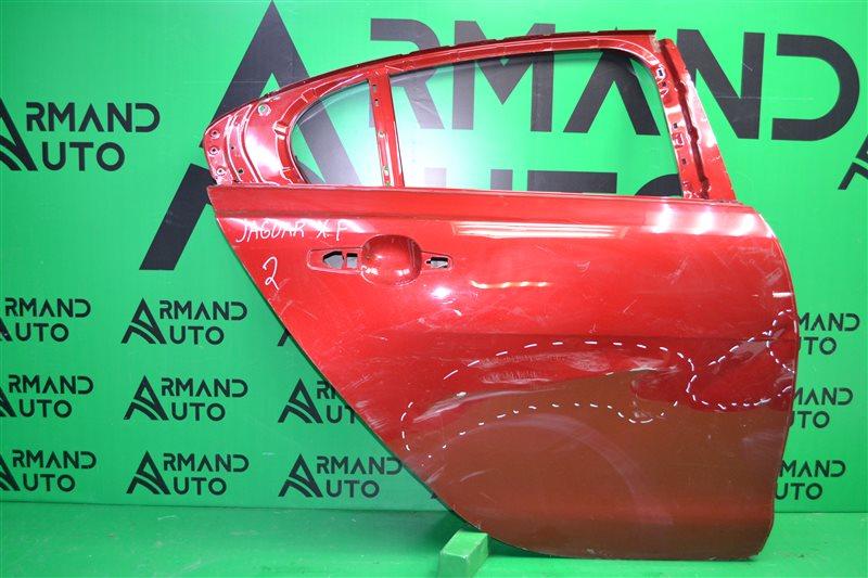 Дверь Jaguar Xf 1 2007 задняя правая (б/у)