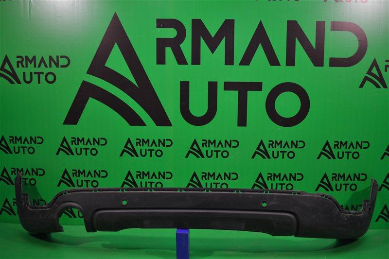 Юбка бампера Mini Countryman F60 2016 задняя нижняя (б/у)