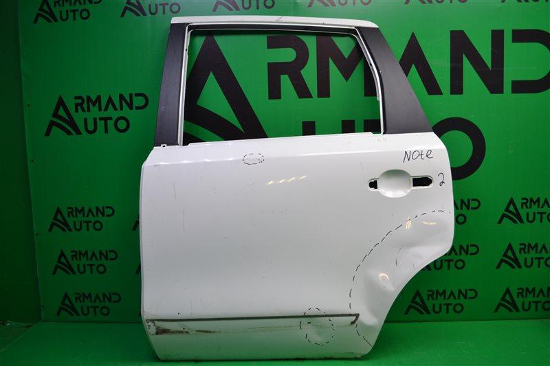 Дверь Nissan Note 2005 задняя левая (б/у)
