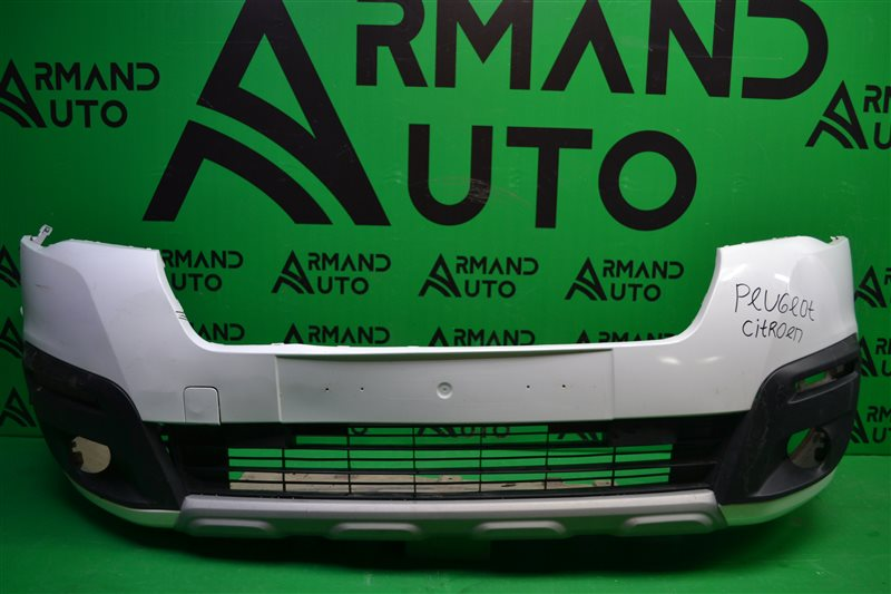 Бампер Citroen Berlingo 2 РЕСТАЙЛИНГ 2015 передний (б/у)