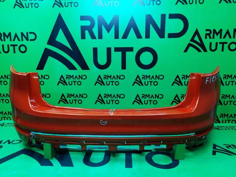 Бампер Ford Fiesta MK6 РЕСТАЙЛИНГ 2012 задний (б/у)