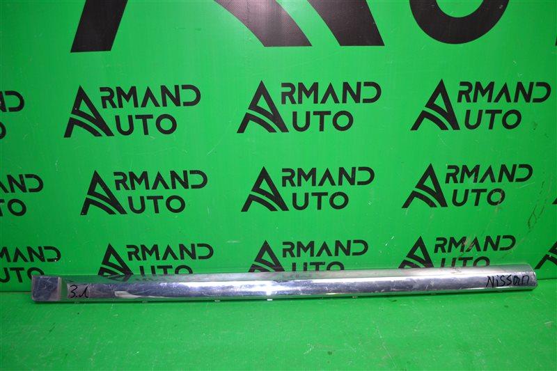 Накладка двери Nissan Pathfinder R52 2012 задняя левая (б/у)