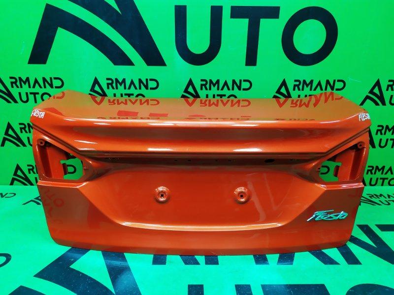 Крышка багажника Ford Fiesta MK6 РЕСТАЙЛИНГ 2012 (б/у)