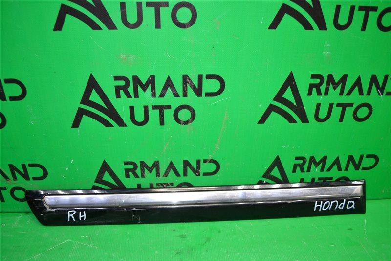 Накладка двери Honda Pilot 2 2008 задняя правая (б/у)