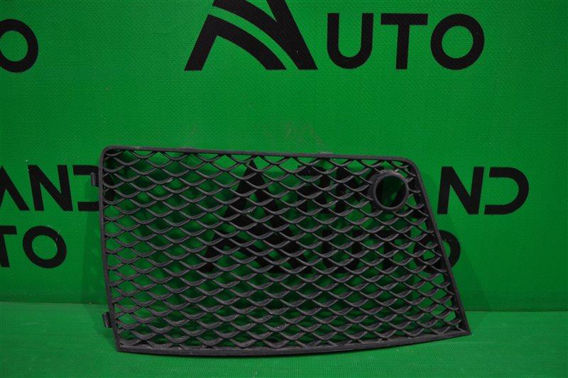 Решетка бампера amg Mercedes Gl X166 2012 передняя левая (б/у)