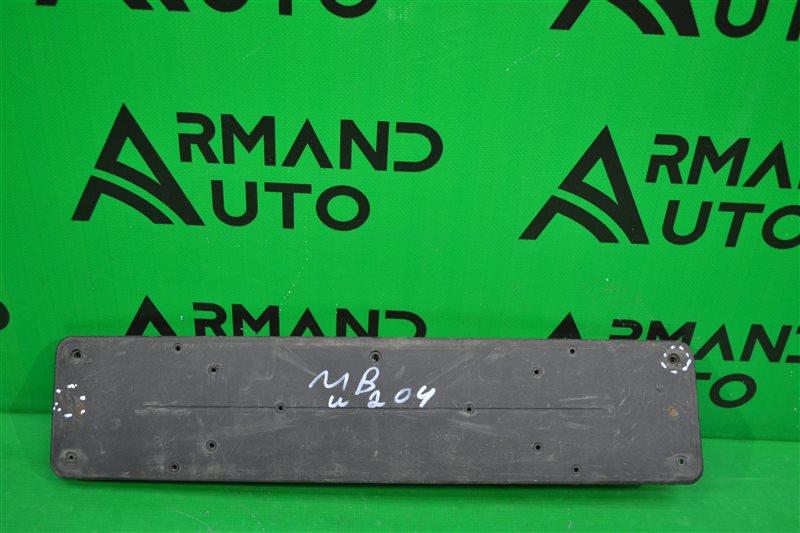 Основание номерного знака Mercedes Glk X204 2008 (б/у)