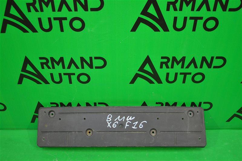Основание номерного знака Bmw X6 F16 2014 (б/у)