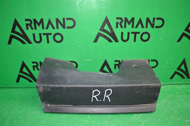 Накладка бампера Land Rover Range Rover Discovery 4 задняя (б/у)