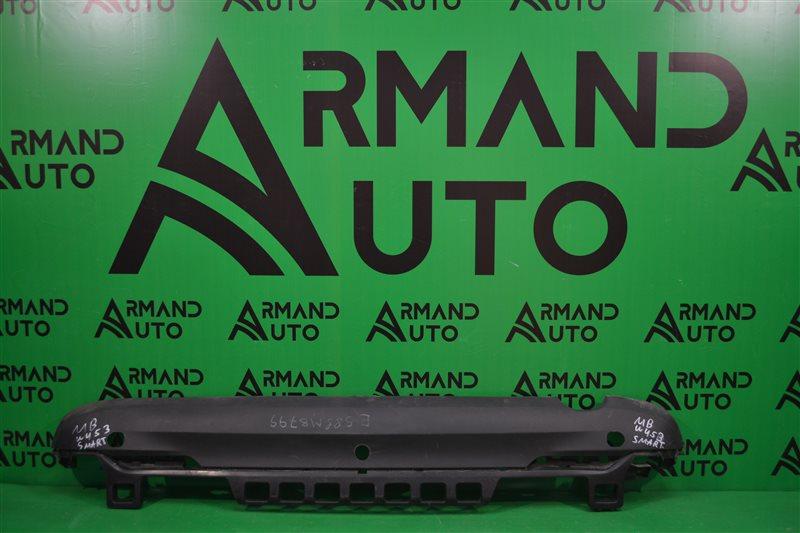 Юбка бампера Smart Fortwo W453 2014 задняя (б/у)