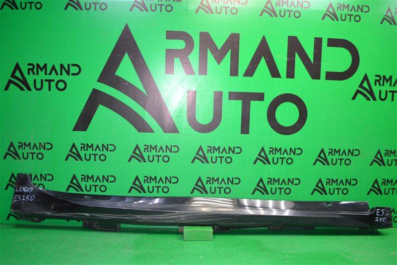 Накладка порога Lexus Es 6 2012 правая (б/у)