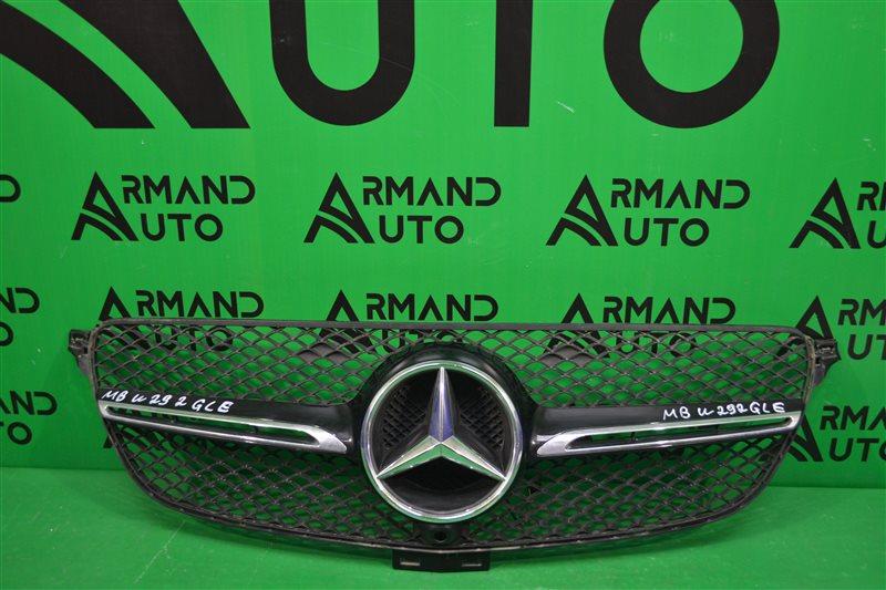 Решетка радиатора Mercedes Gle Coupe C292 2015 (б/у)