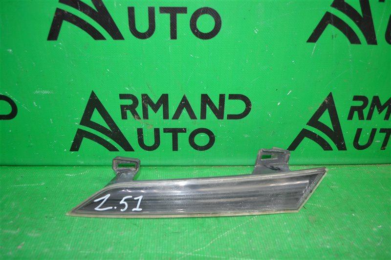 Отражатель решетки радиатора Nissan Murano Z51 РЕСТАЙЛИНГ 2007 левый (б/у)