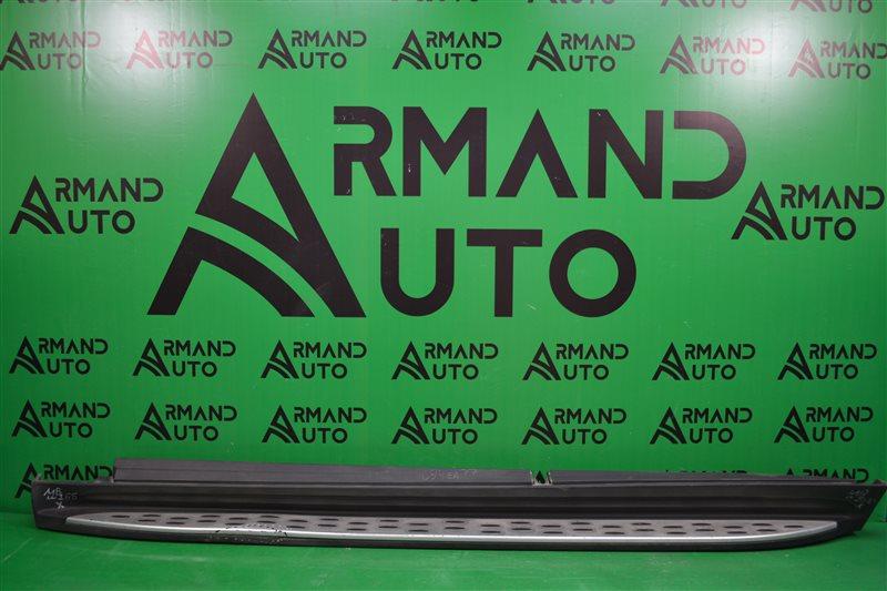 Накладка порога Mercedes Gl X166 2012 левая (б/у)