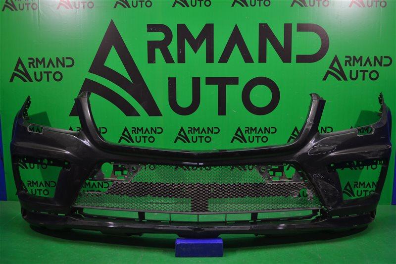 Бампер amg Mercedes Gl X166 2012 передний (б/у)