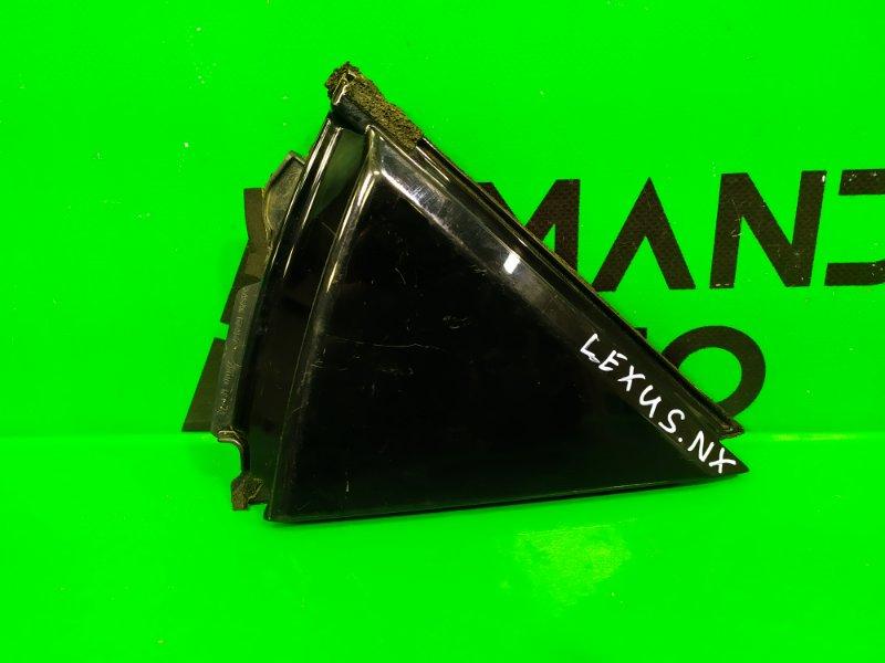 Накладка рамки двери Lexus Nx 200 2014 задняя правая (б/у)