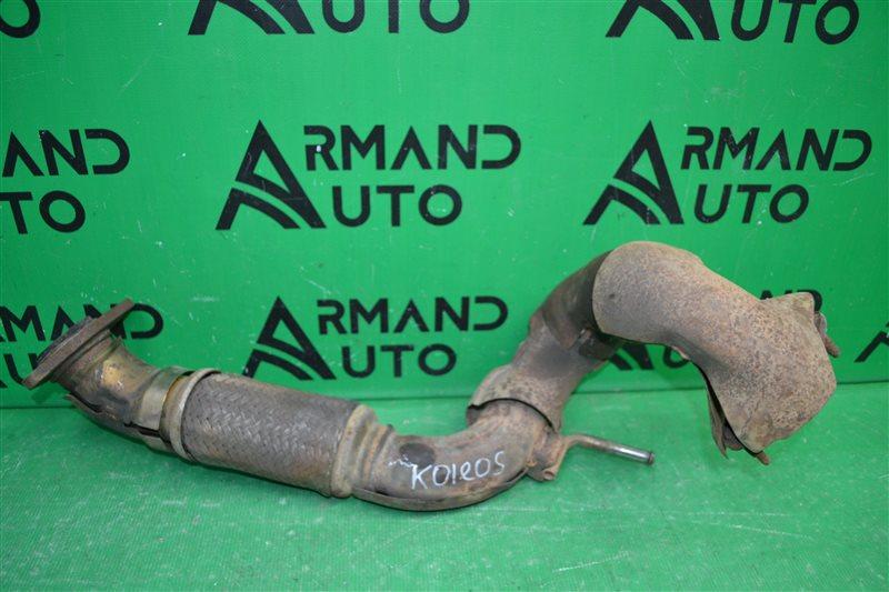 Труба глушителя Renault Koleos 2008 (б/у)