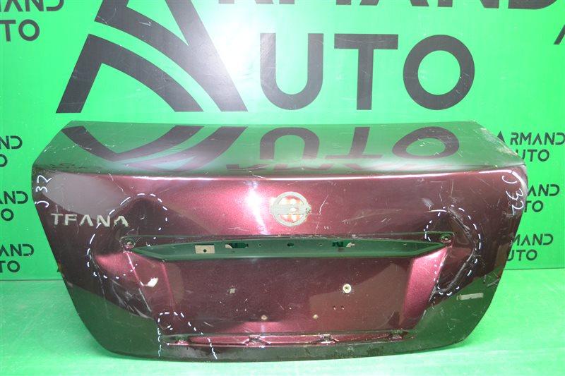 Крышка багажника Nissan Teana J32 2008 (б/у)