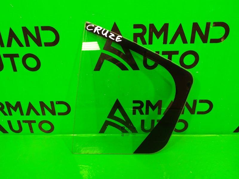 Форточка двери Chevrolet Cruze 2009 задняя левая (б/у)