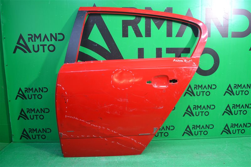 Дверь Opel Astra H 2004 задняя левая (б/у)