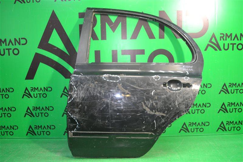 Дверь Nissan Micra 3 2002 задняя левая (б/у)