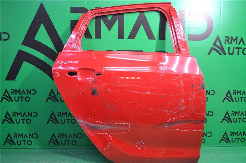 Дверь Opel Astra J 2009 задняя правая (б/у)