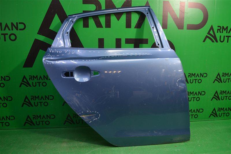 Дверь Volvo V40 2 2012 задняя правая (б/у)