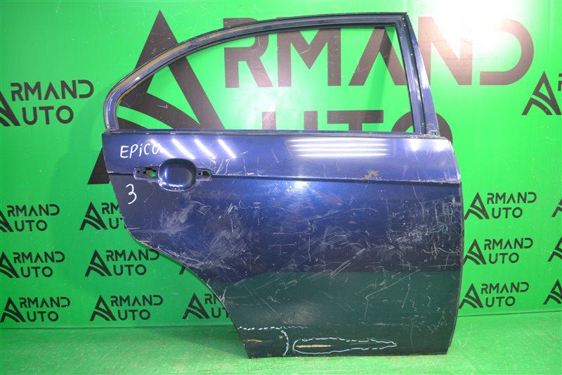 Дверь Chevrolet Epica 2006 задняя правая (б/у)