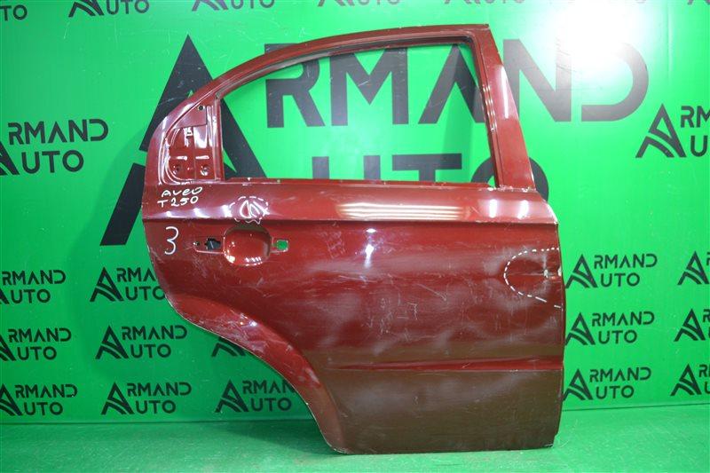 Дверь Chevrolet Aveo T250 2006 задняя правая (б/у)