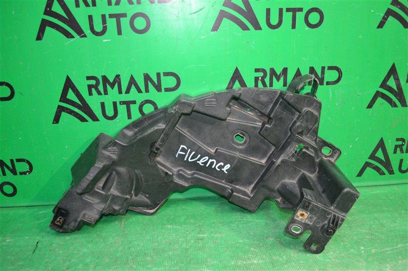 Кронштейн бампера Renault Fluence 2009 передний левый (б/у)