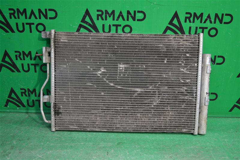 Радиатор кондиционера Chevrolet Aveo T300 2011 (б/у)