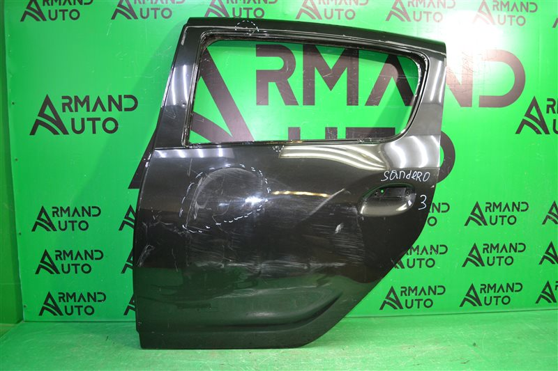 Дверь Renault Sandero 2 2014 задняя левая (б/у)