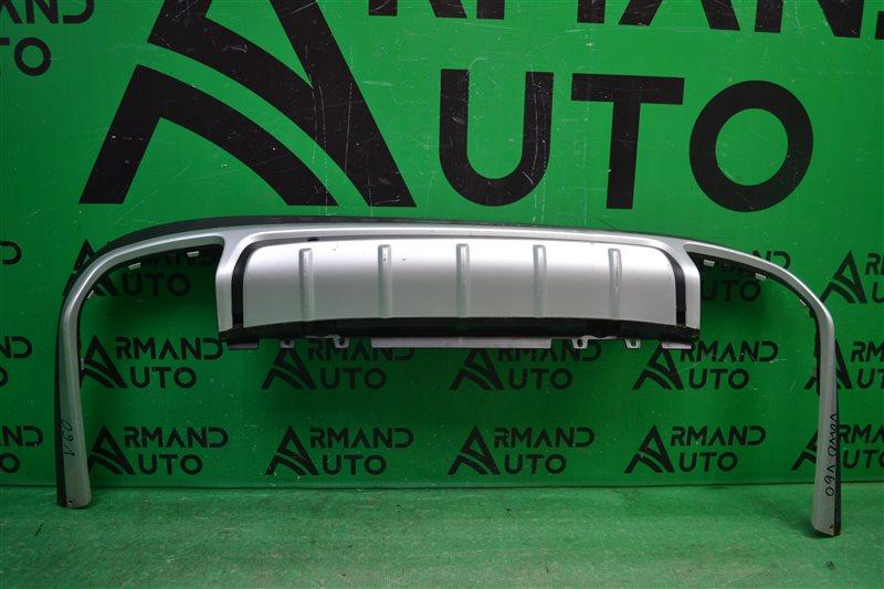 Накладка бампера Volvo V60 CROSS COUNTRY 2015 задняя (б/у)