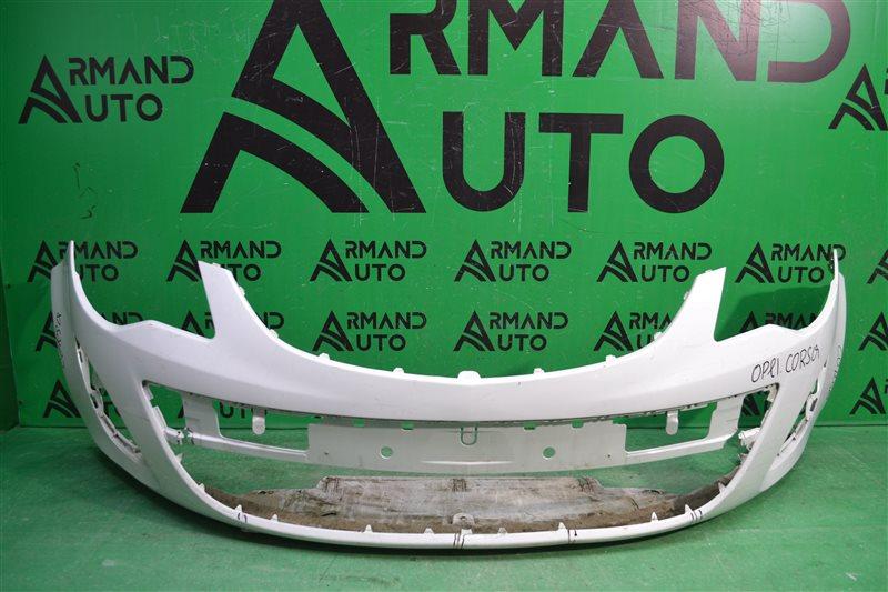 Бампер Opel Corsa D РЕСТАЙЛИНГ 2010 передний (б/у)