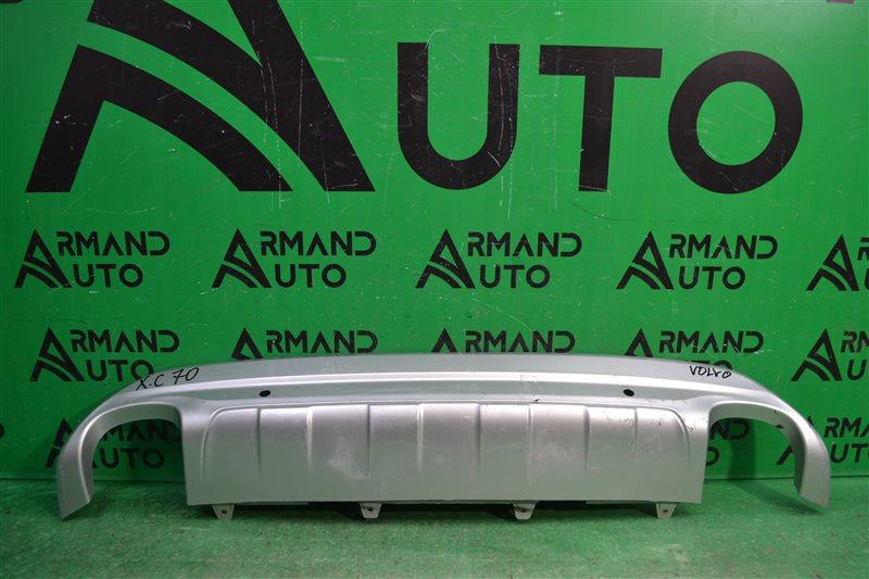 Накладка бампера Volvo Xc70 2 2013 задняя (б/у)