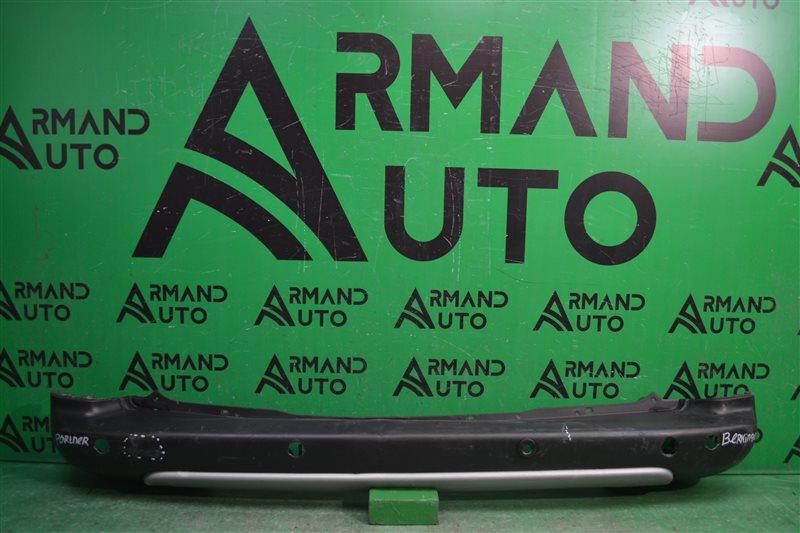 Бампер Citroen Berlingo 2 2008 задний (б/у)