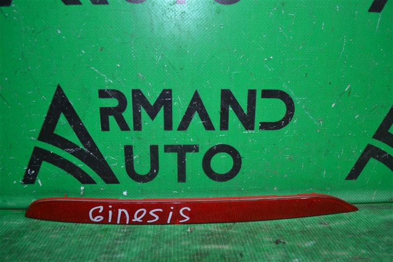 Катафот бампера Hyundai Genesis 2 2013 левый (б/у)