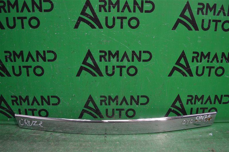 Накладка крышки багажника Chevrolet Cruze 2009 (б/у)