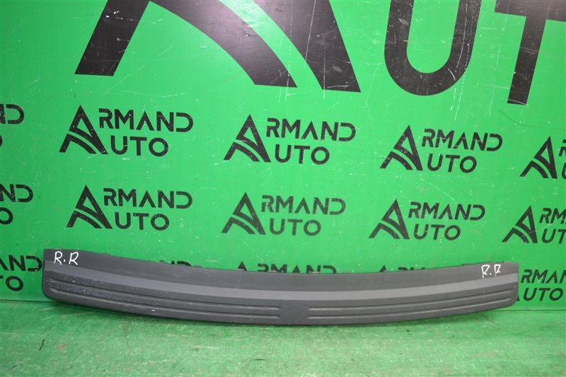 Накладка бампера Land Rover Freelander 2 2006 задняя верхняя (б/у)