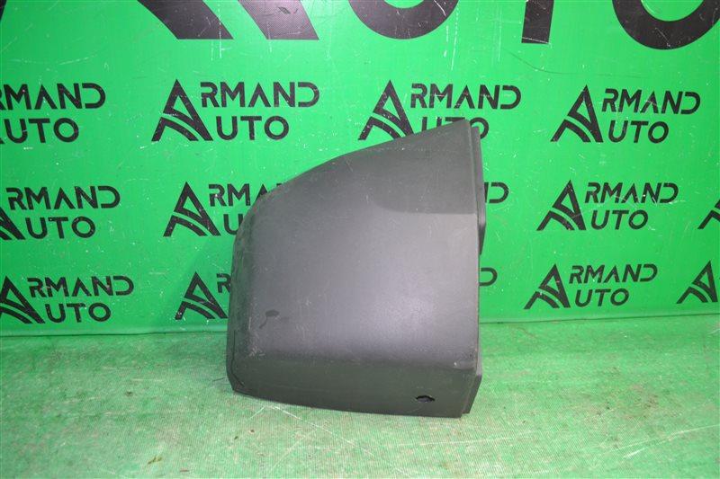 Накладка бампера Hummer H3 2005 задняя левая (б/у)