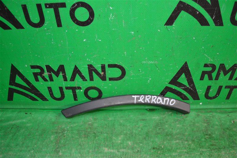 Накладка бампера Nissan Terrano 3 D10 2014 задняя правая (б/у)