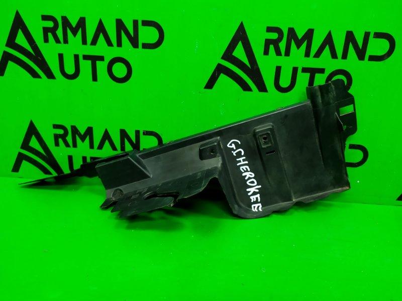 Дефлектор радиатора Jeep Grand Cherokee WK2 РЕСТАЙЛИНГ 2013 левый (б/у)