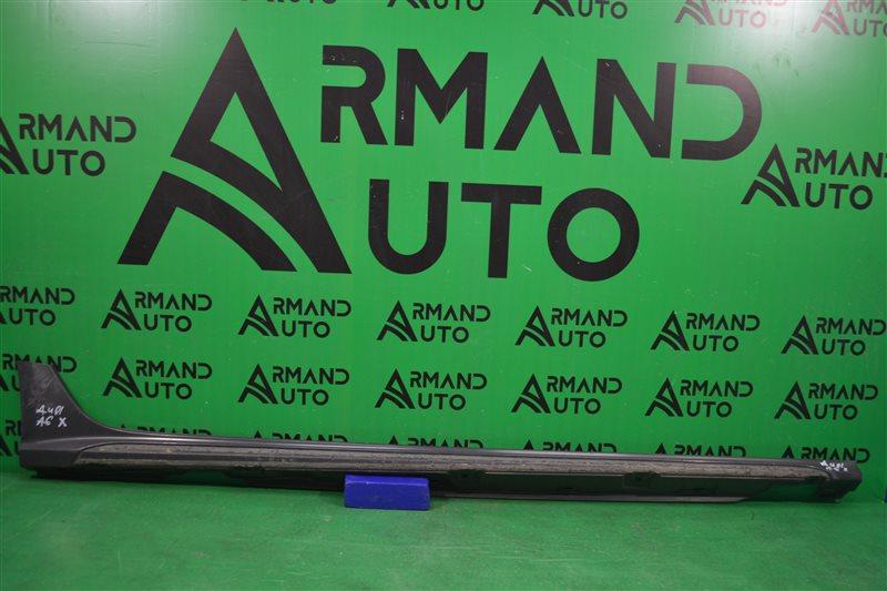 Накладка порога Audi A6 Allroad C7 2011 правая (б/у)