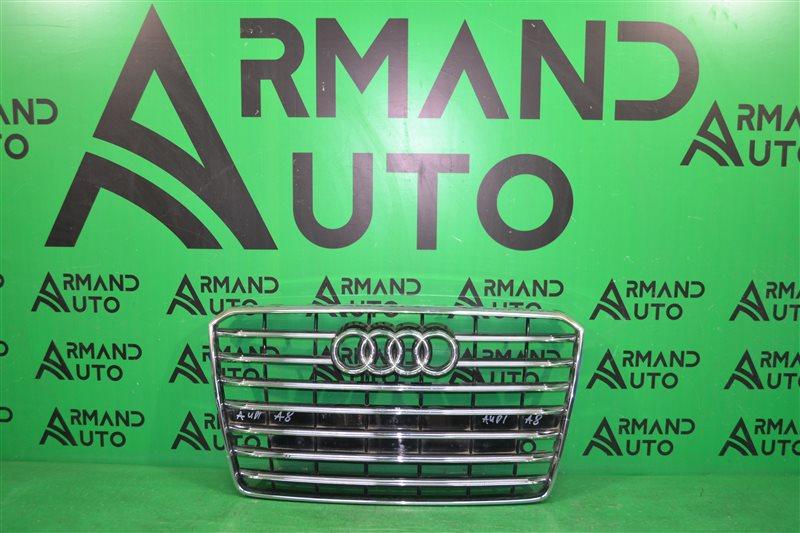 Решетка радиатора Audi A8 D4 2013 (б/у)