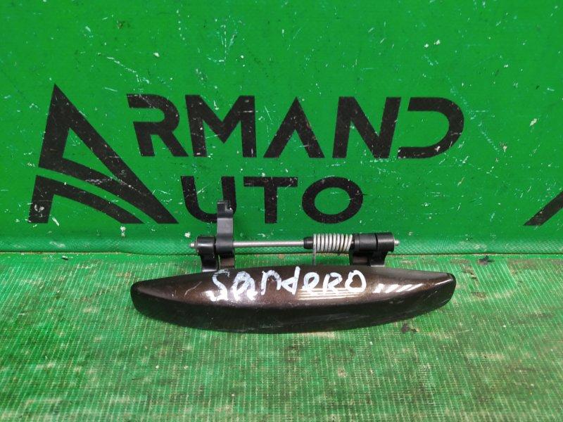 Ручка двери Renault Sandero 2009 передняя правая (б/у)