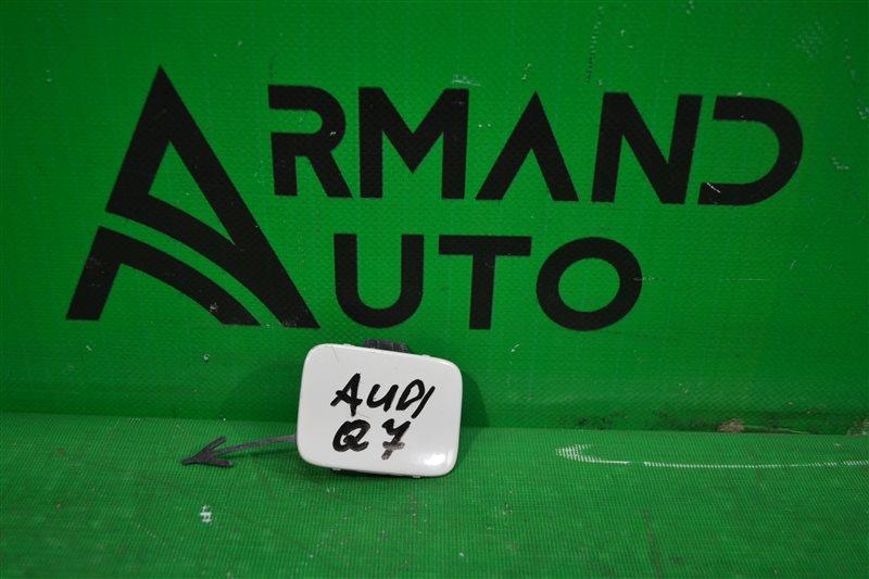 Заглушка бампера Audi Q7 4M 2015 задняя правая (б/у)