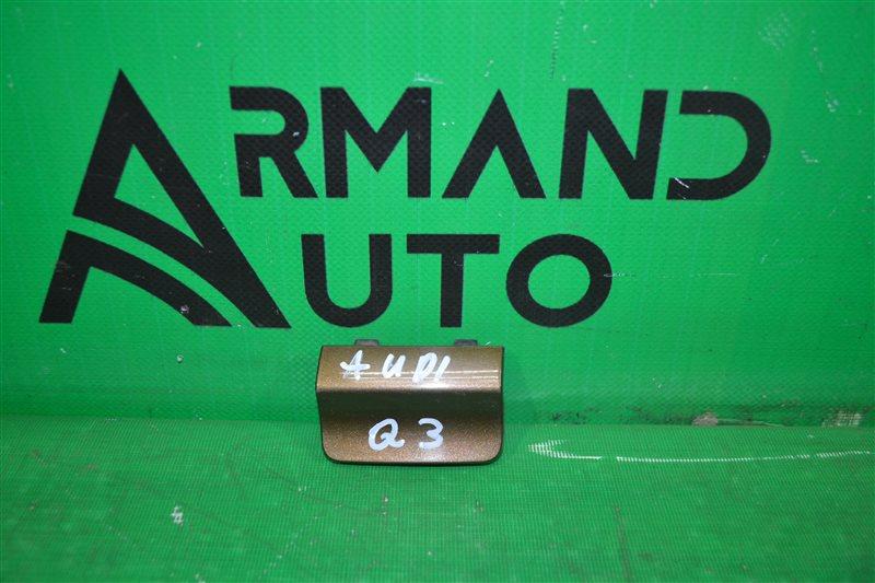 Заглушка бампера Audi Q3 8U 2011 задняя левая (б/у)